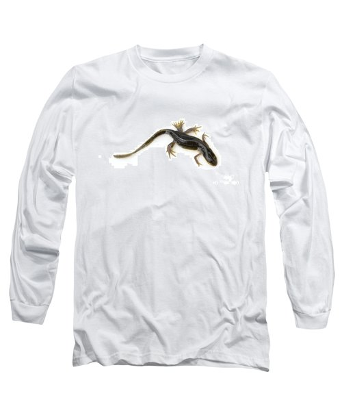 Mutated Eastern Newt Long Sleeve T-Shirt by Lawrence Lawry
