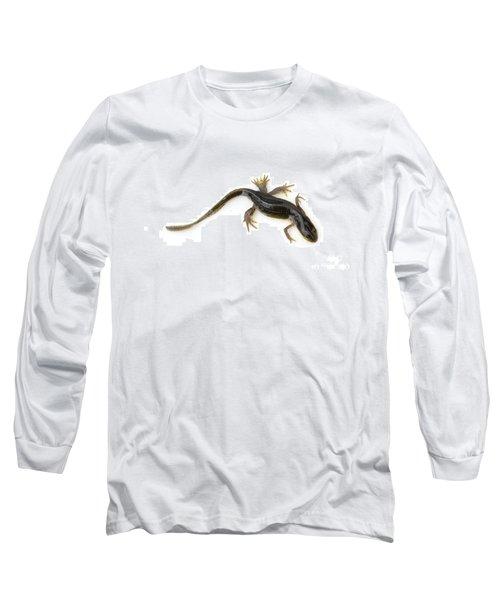 Mutated Eastern Newt Long Sleeve T-Shirt