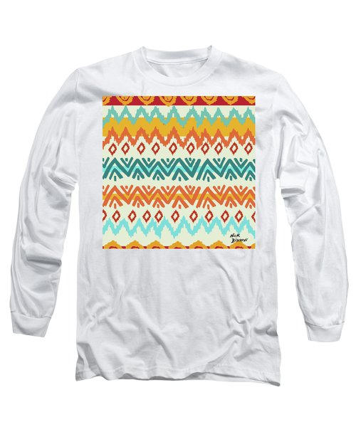 Navajo Mission Round Long Sleeve T-Shirt