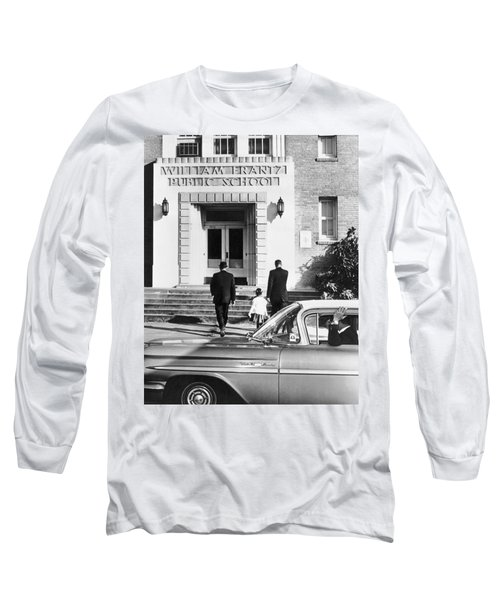 New Orleans School Integration Long Sleeve T-Shirt