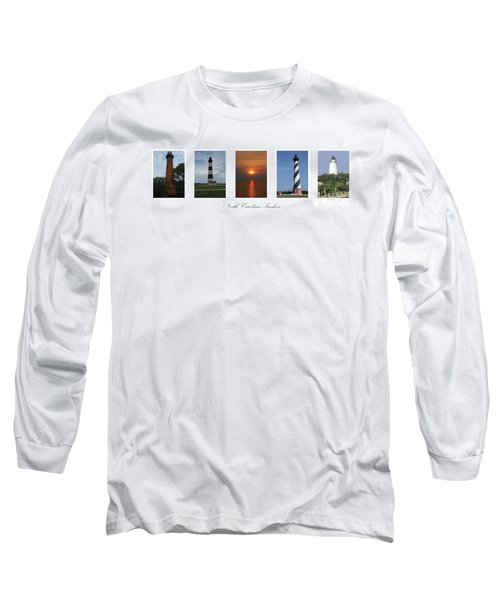 North Carolina Seashore Long Sleeve T-Shirt
