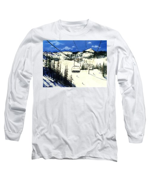 Paradise Bowl Long Sleeve T-Shirt by Barbara Jewell