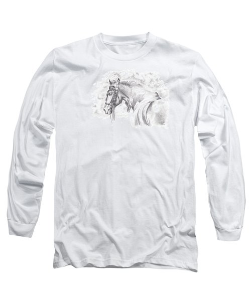 Patience Long Sleeve T-Shirt by Kate Black