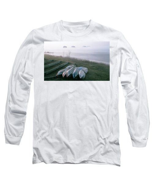 Long Sleeve T-Shirt featuring the photograph Patiently Waiting by David Porteus