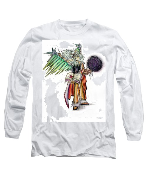 Pelusis God Of Law And Order Long Sleeve T-Shirt