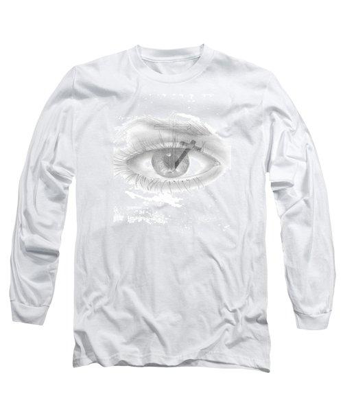 Plank In Eye Long Sleeve T-Shirt