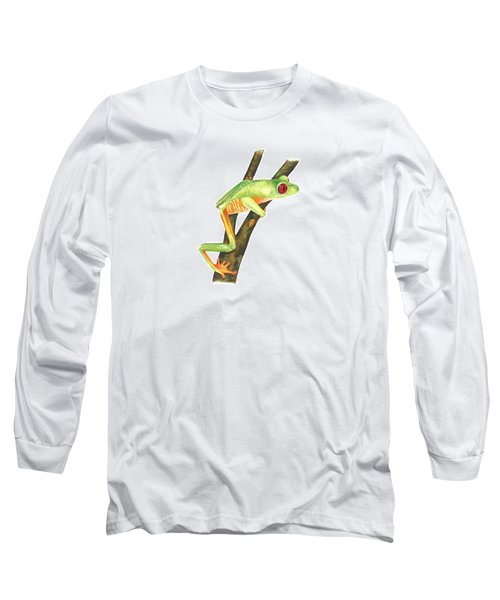 Red-eyed Treefrog Long Sleeve T-Shirt