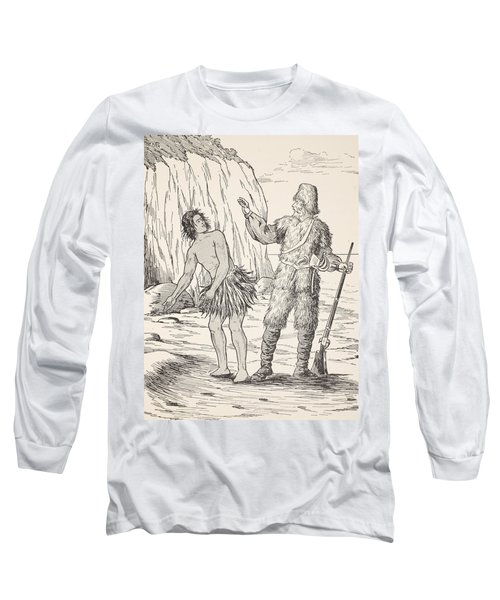 Robinson Crusoe And Friday Long Sleeve T-Shirt