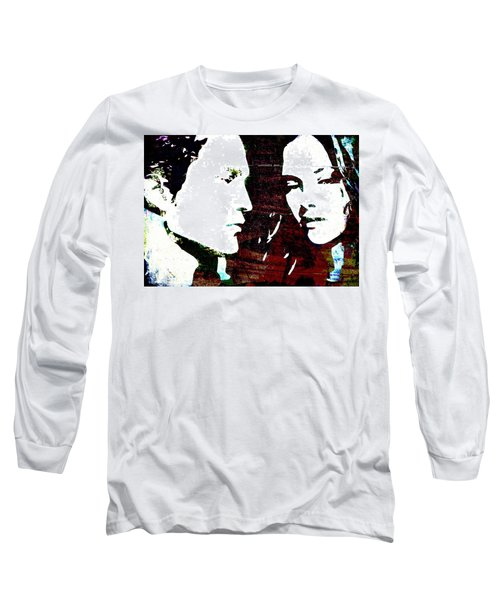 Robsten Long Sleeve T-Shirt by Svelby Art