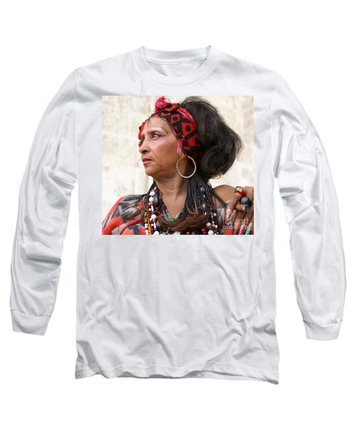 Santeria Woman Long Sleeve T-Shirt