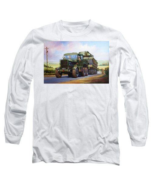 Scammell Explorer. Long Sleeve T-Shirt