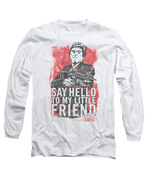 Scarface - Little Friend Long Sleeve T-Shirt