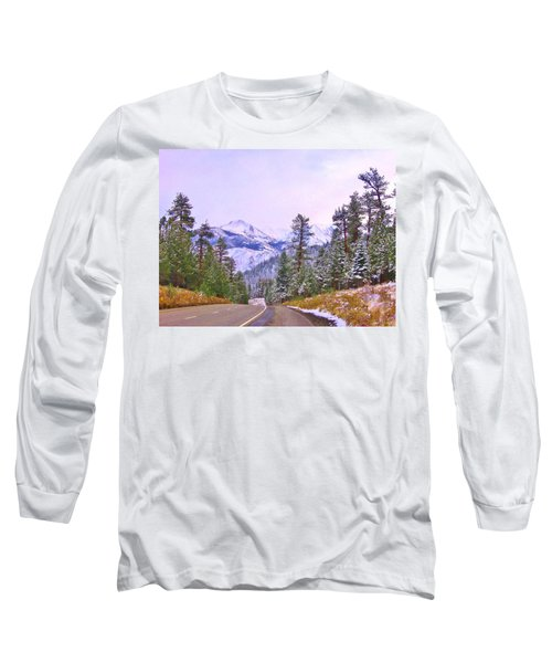 Sierra Storm Long Sleeve T-Shirt by Marilyn Diaz
