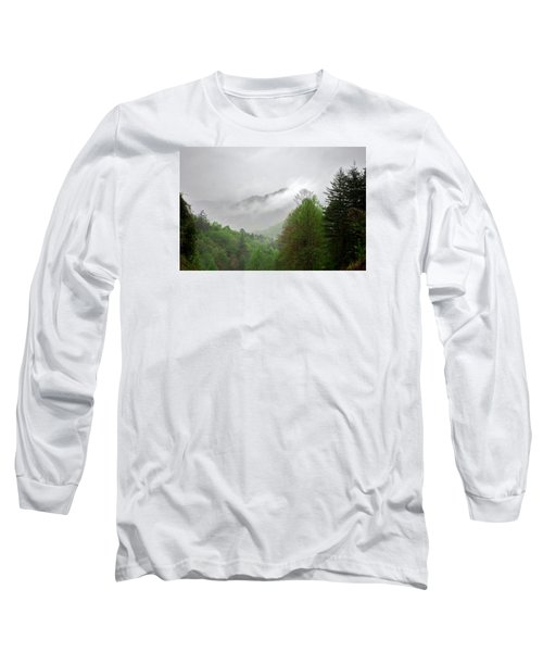 Smoky Mountains Long Sleeve T-Shirt by Lawrence Boothby