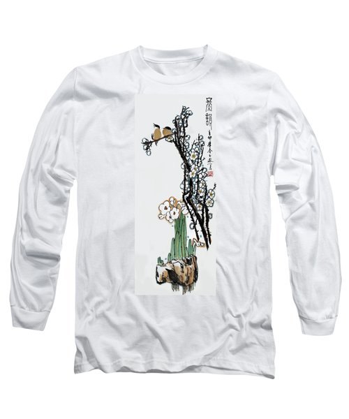 Long Sleeve T-Shirt featuring the photograph Spring Melody by Yufeng Wang