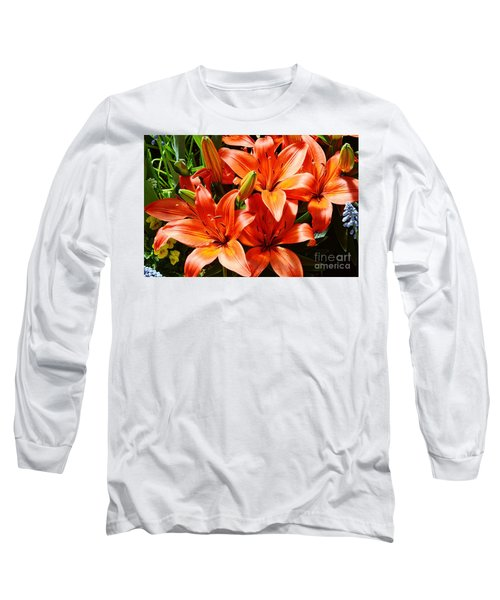 The Color Orange Long Sleeve T-Shirt