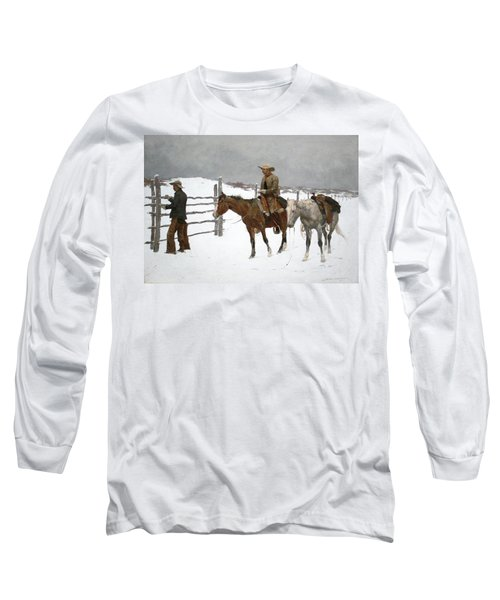 The Fall Of The Cowboy Long Sleeve T-Shirt