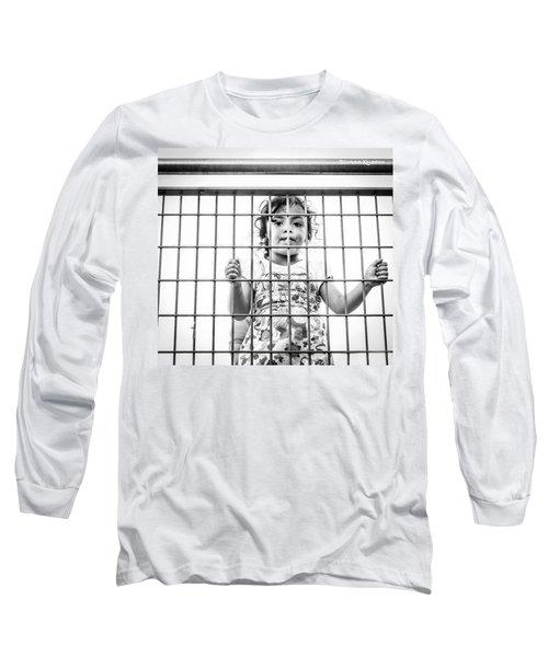 The Locked Little Girl Long Sleeve T-Shirt