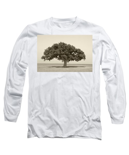 The Lonely Tree Long Sleeve T-Shirt by Charles Beeler