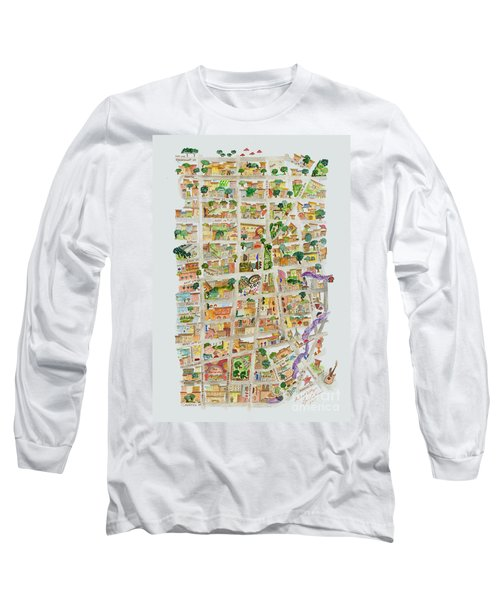 The Way West Village Long Sleeve T-Shirt by AFineLyne