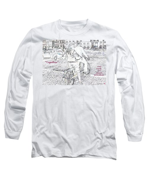 Long Sleeve T-Shirt featuring the photograph Together by Rhonda McDougall
