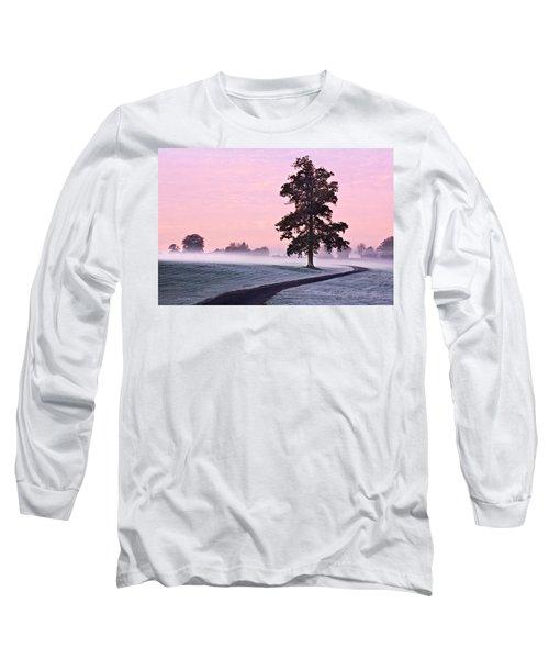 Tree At Dawn / Maynooth Long Sleeve T-Shirt