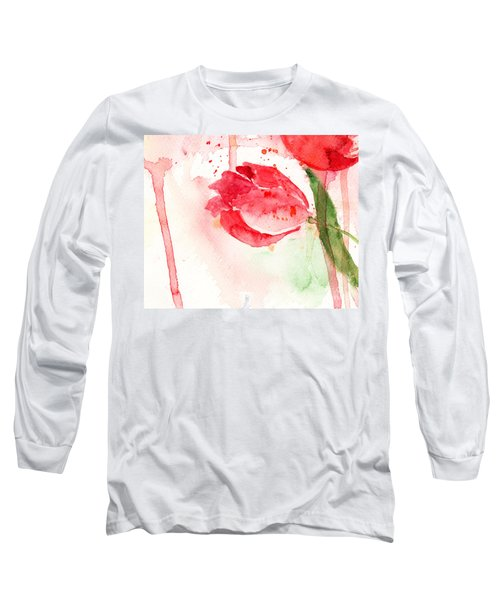 Tulip Flower Long Sleeve T-Shirt