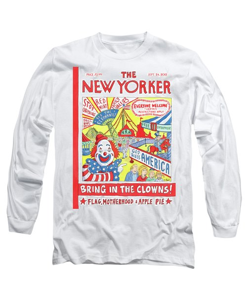 New Yorker September 24th, 2012 Long Sleeve T-Shirt