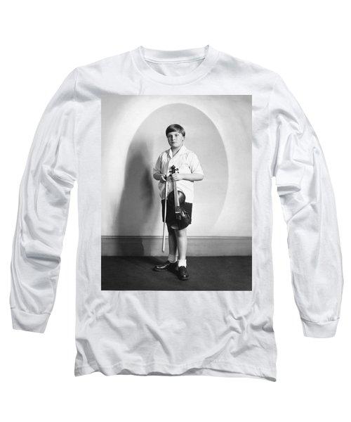 Violinist Yehudi Menuhin Long Sleeve T-Shirt