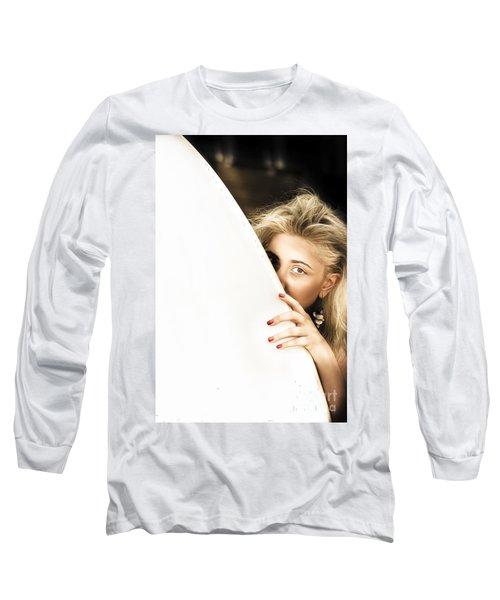 Water Sport Woman Long Sleeve T-Shirt
