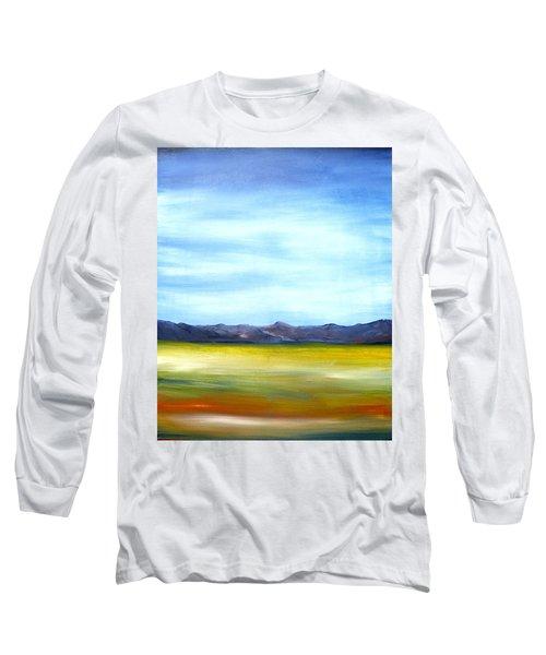 West Texas Landscape Long Sleeve T-Shirt