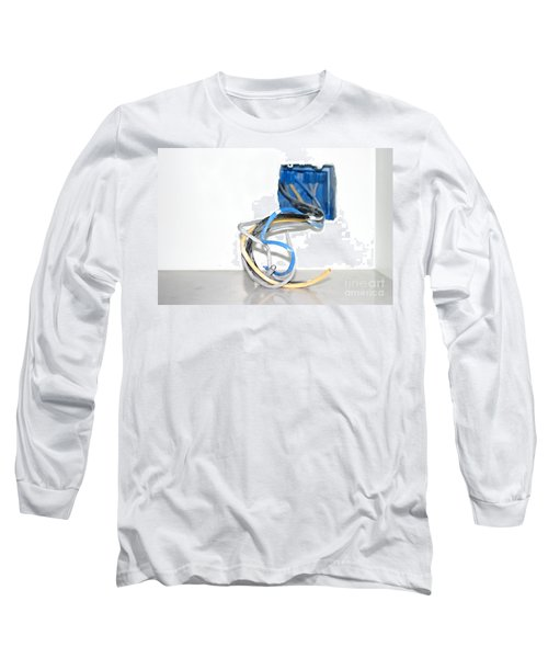 Long Sleeve T-Shirt featuring the photograph Wire Box by Henrik Lehnerer