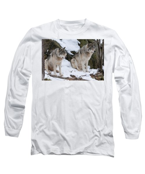 Timber Wolves Long Sleeve T-Shirt