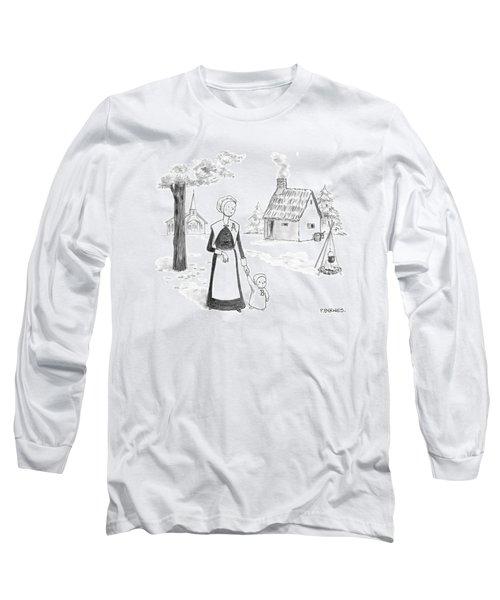 Captionless; Long Sleeve T-Shirt
