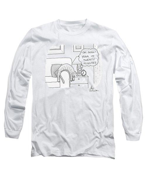 Oh Gosh Yoga In Twenty Minutes Long Sleeve T-Shirt