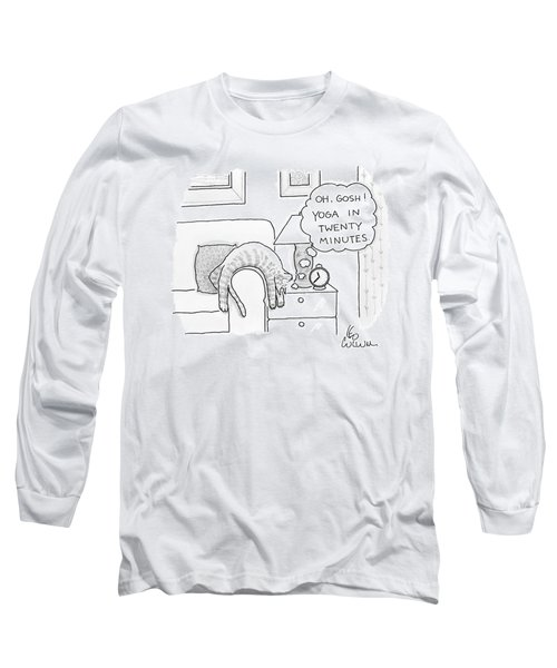 Oh Gosh Yoga In Twenty Minutes Long Sleeve T-Shirt