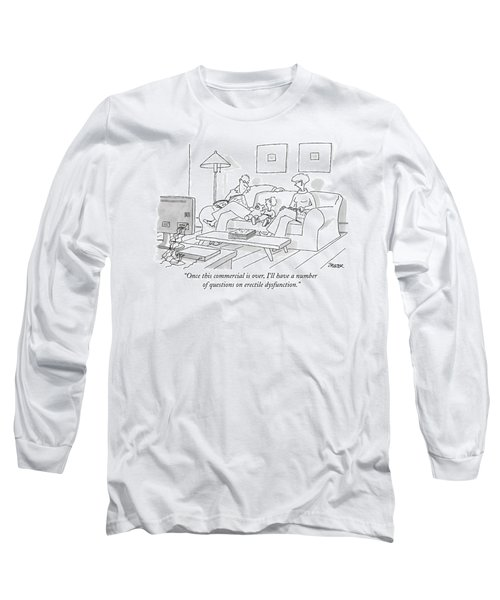 Once This Commercial Long Sleeve T-Shirt