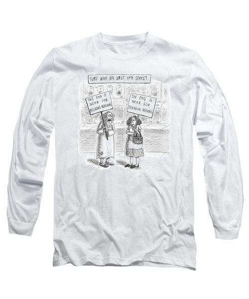 Turf War On West 49th Street Long Sleeve T-Shirt