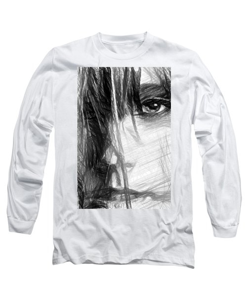 Facial Expressions Long Sleeve T-Shirt