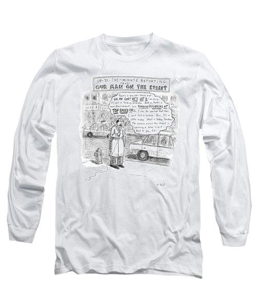 New Yorker February 9th, 2009 Long Sleeve T-Shirt