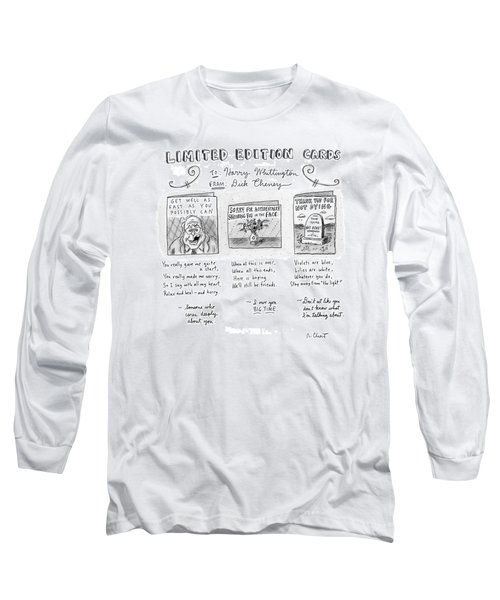Limited Edition Cards Long Sleeve T-Shirt