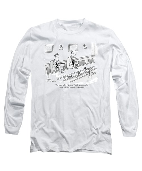 For Years After Vietnam Long Sleeve T-Shirt