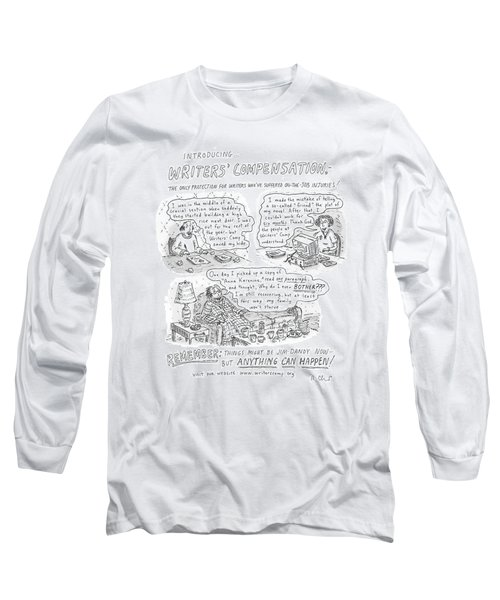 Writers' Compensation Long Sleeve T-Shirt
