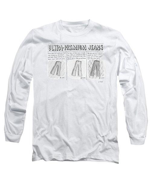 Ultra-premium Jeans Long Sleeve T-Shirt