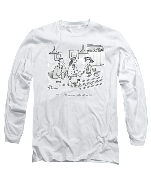 We Spent The Summer On The Cote De Jersey Long Sleeve T-Shirt