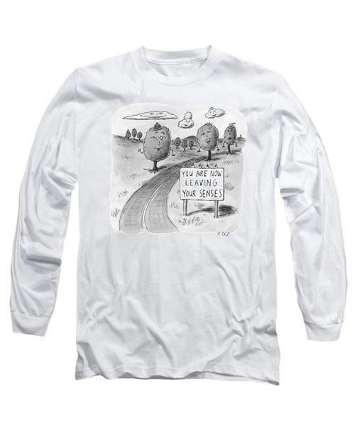 New Yorker April 20th, 2009 Long Sleeve T-Shirt