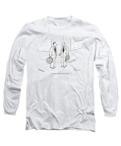 I See You Brought The Pie Charts Long Sleeve T-Shirt