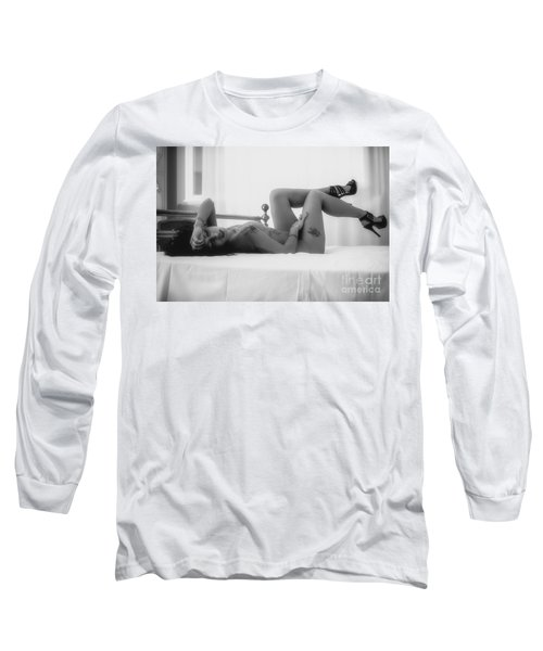 Silvia Long Sleeve T-Shirt by Traven Milovich