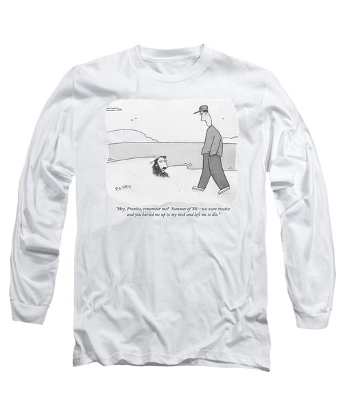 Hey, Frankie, Remember Me?  Summer Of '88 - Long Sleeve T-Shirt