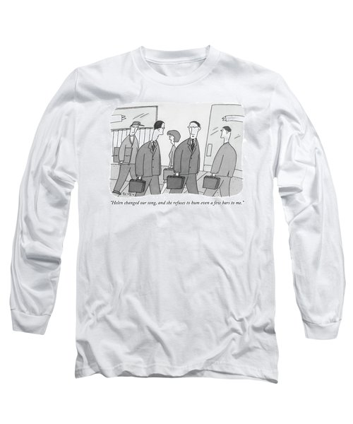Helen Changed Our Song Long Sleeve T-Shirt